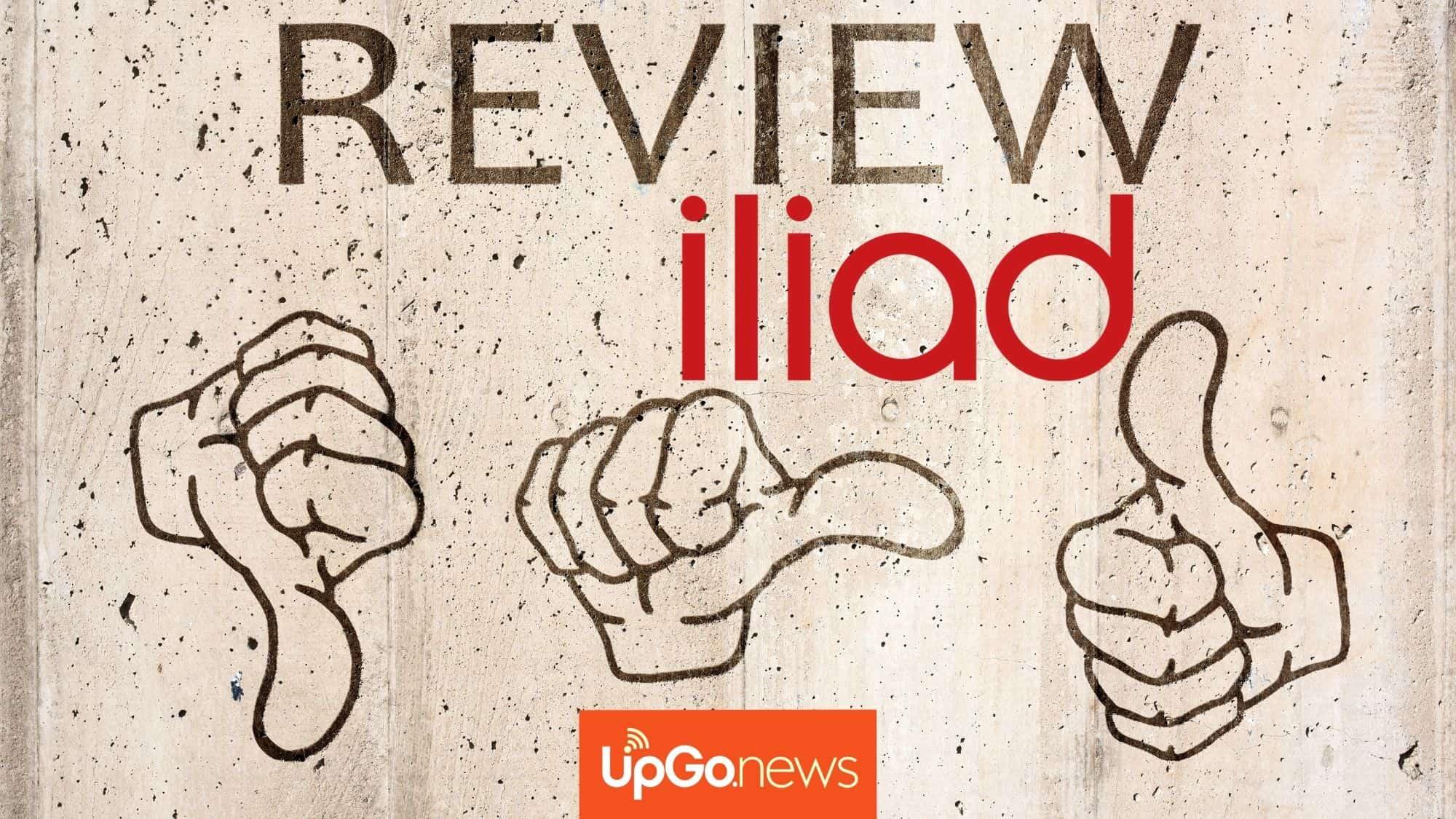 Come funziona Iliad. Recensione Iliad